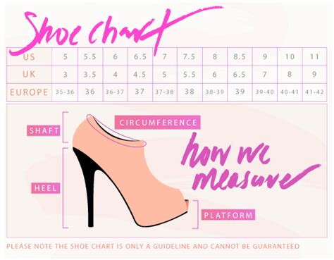 shoe size chart different countries lost in lace chunky oxford flats black pink gojane com