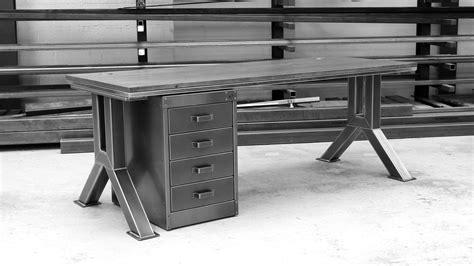 the engineering desk bespoke industrial desks steel