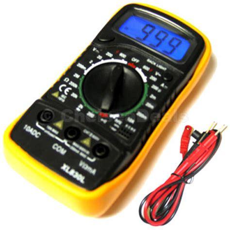 Ohm Meter Digital New Digital Lcd Multimeter Voltmeter Ohm Meter Ammeter Ebay