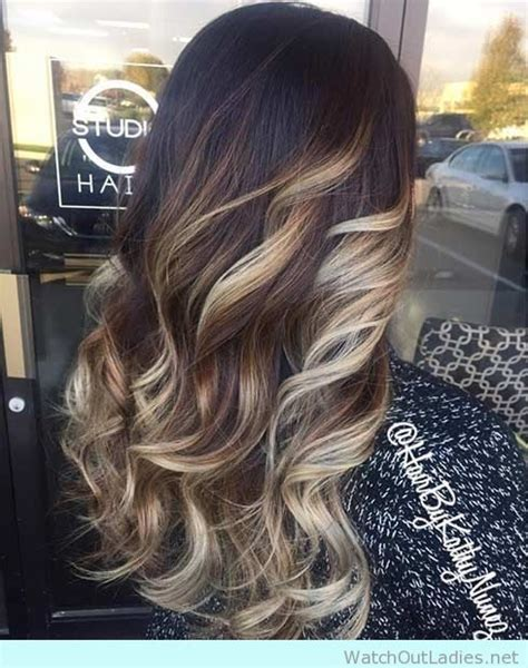 silvery blonde highlights 12 balayage on dark brown hair ideas you need to copy this