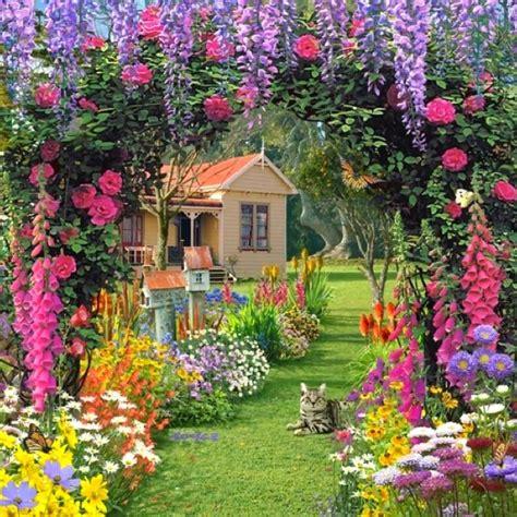 72 Best Images About Magical Garden On Pinterest Gardens Magical Flower Garden