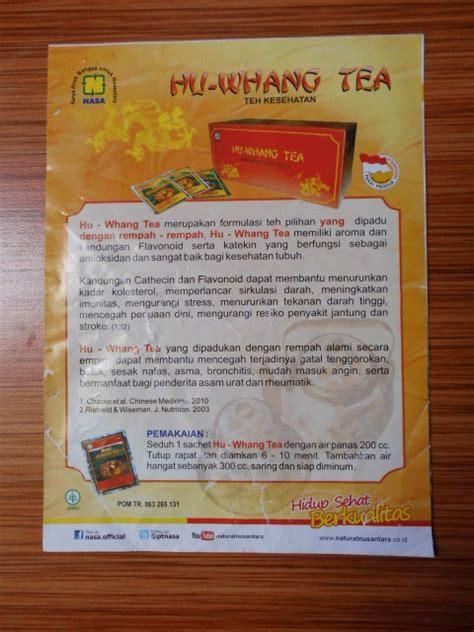 Hu Whang Tea 1 jual brosur hu whang tea dan tea nasa store