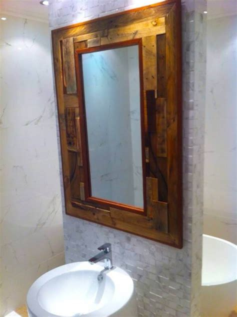 cabin bathroom mirrors rustic bathroom mirror with shelf brightpulse us