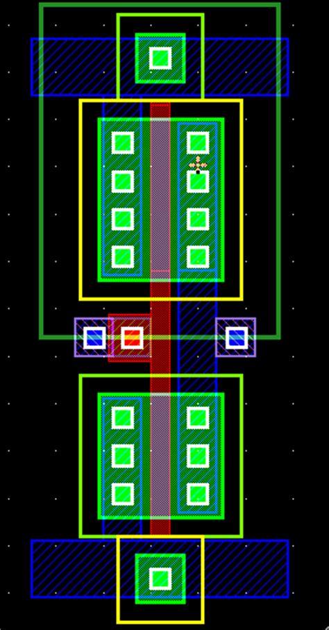 cmos layout design tutorial cs ece755 discussion session i