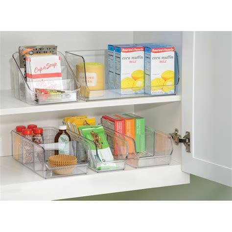 Kitchen Storage Organizers by Kitchen Spice Medicine Sugar Bin Clear Rack Holder Storage