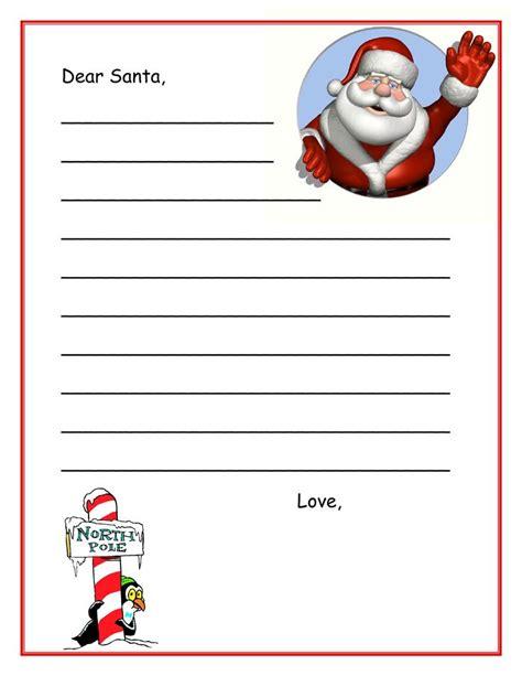printable stationary from santa dear santa printable christmas pinterest