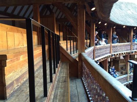 globe theater seats view from gallery seats a5 a6 not bad but you
