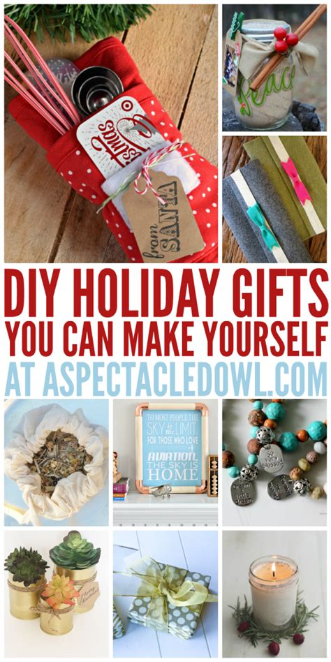 25 diy holiday gifts you can make yourself a spectacled owl