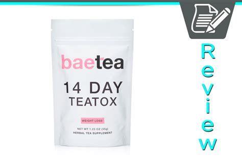 Haevy Metal Detox Rash by Baetea Review Teatox Helps Detoxify And Boost Energy