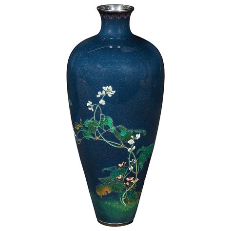 Vase Auction by Japanese Cloisonne Enamel Vase For Sale At Auction On Mon
