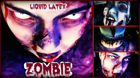 zombie makeup tutorial without latex zombie bite makeup without liquid latex saubhaya makeup