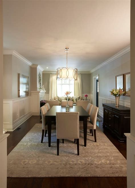 Area Rugs For Living Room Dining Room Houzz Dining Rooms With Traditional Area Rug Room Decor