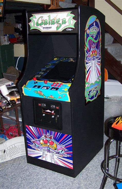 Galaga Arcade Cabinet by Gallaga Arcade Images Frompo 1