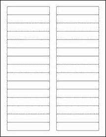 avery 8366 template file folder labels 1000 sheets white matte blank laser