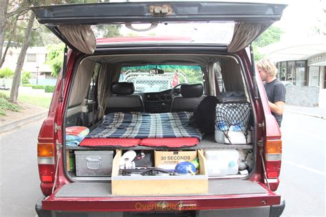 Im Auto leben im auto overlandtrip