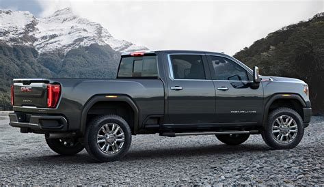 2020 Gmc 3500 Denali For Sale by 2020 Gmc At4 Hd Will Haul Many Things Into The