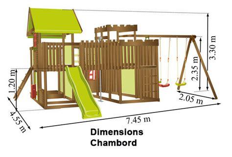 fabriquer portique balancoire plan pour construire une balancoire en bois el