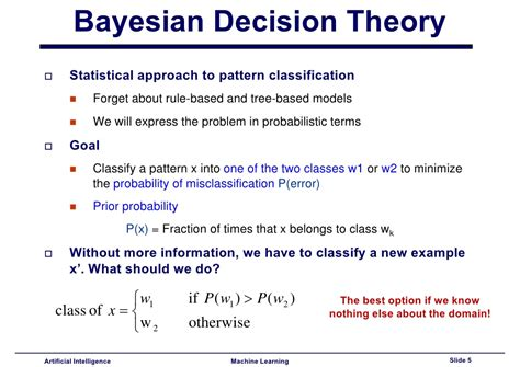 pattern recognition bayesian decision theory lecture10 na 239 ve bayes