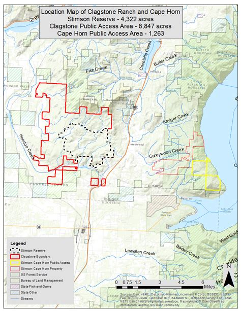 Bonner County Records Easement Opening Idaho S Clagstone To