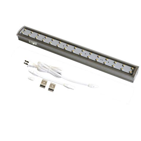 commercial electric under cabinet lighting installation commercial electric 12 in led silver under cabinet light