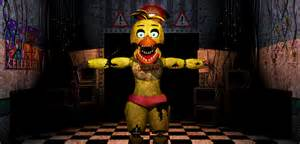 Fnaf2 withered old toy chica video by christian2099 on deviantart