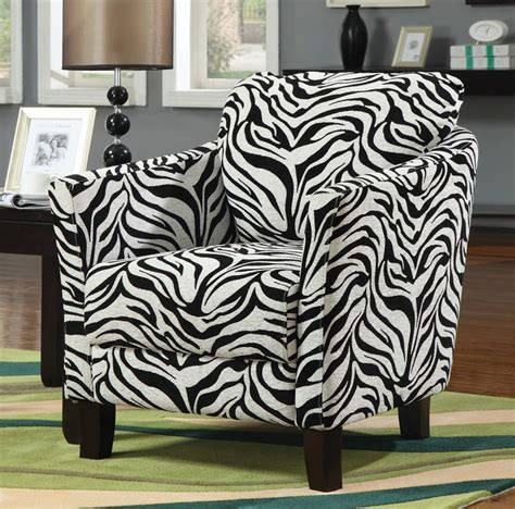 Zebra Accent Chair Coaster 90040x Jungle Accent Chair Zebra