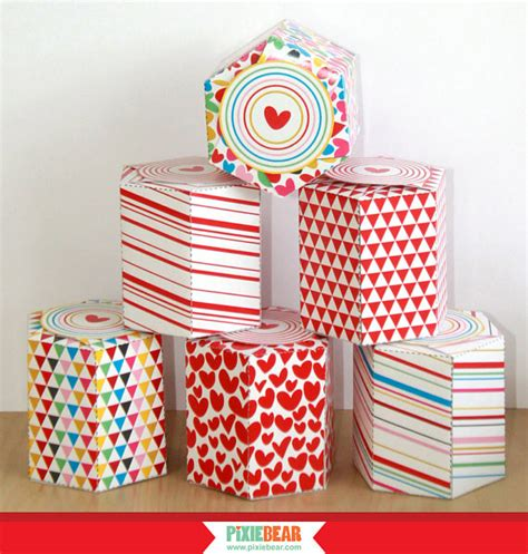 templates for valentines day boxes favor box templates with free printable gift stickers