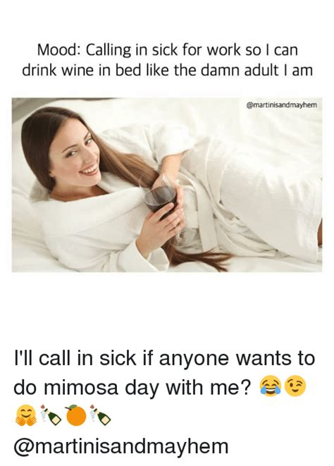 Sick In Bed Meme - 25 best memes about calling in sick for work calling in
