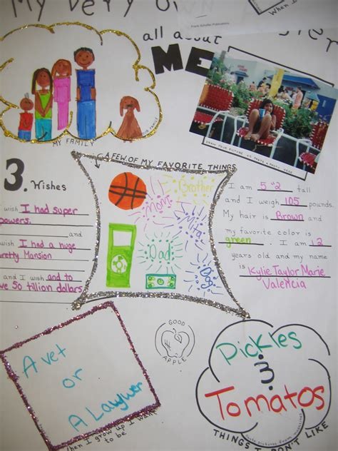 creative biography presentation ideas beginning the school year it s about connections not