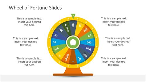 presentation for wheel of fortune slidemodel