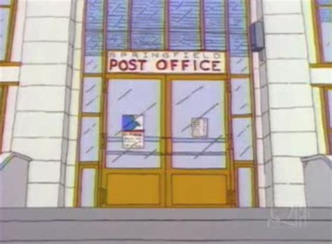 Post Office Springfield by Image Springfield Post Office Png Simpsons Wiki Wikia