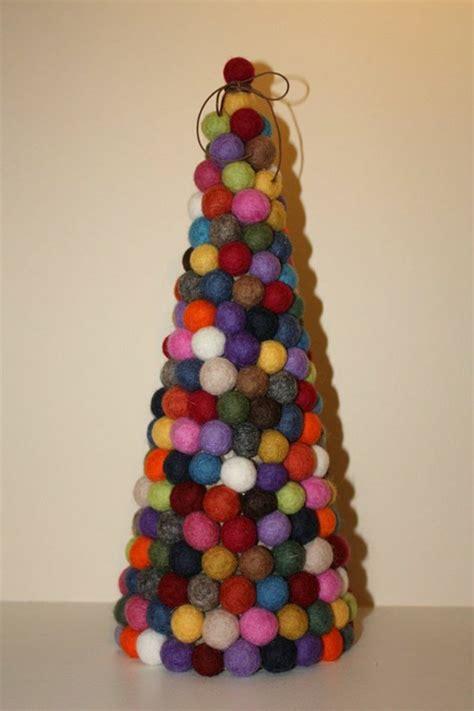weihnachtsbaum basteln kreative bastelideen fuer weihnachten