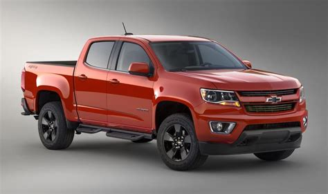 2018 chevrolet colorado redesign future cars models