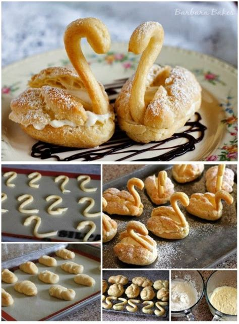 25 Best Ideas About Choux Pastry On Pinterest Profiteroles Recipe Profiteroles And Pastry Cook Choux Swans Template