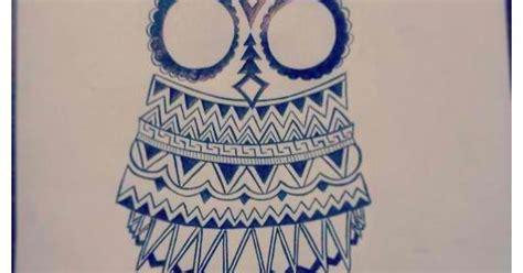 owl tattoo aztec aztec owl drawing tattoo pinterest shirts aztec