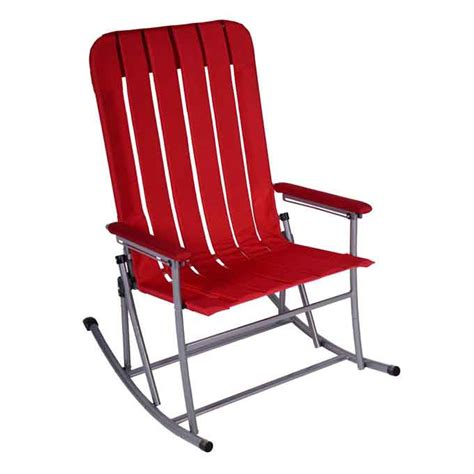 oversized folding rocking chair