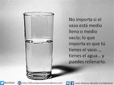 el agua o los vasos de agua de la boveda espiritual tu tienes el vaso y tienes el agua eficacia personal