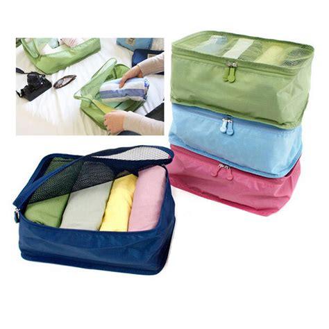 Pouch Organizer home travel portable mesh pouch bags organizer zip tidy storage box ebay
