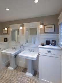 Bungalow Bathroom Ideas Porter Bungalow Craftsman Bathroom Dc Metro By Architects Pc