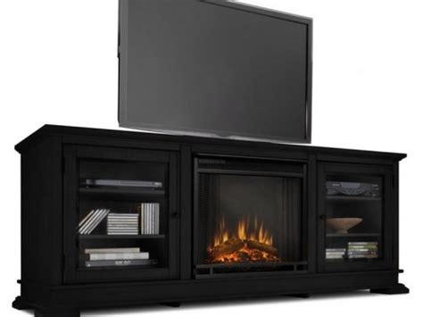 fireplace entertainment center lowes shop real flame w