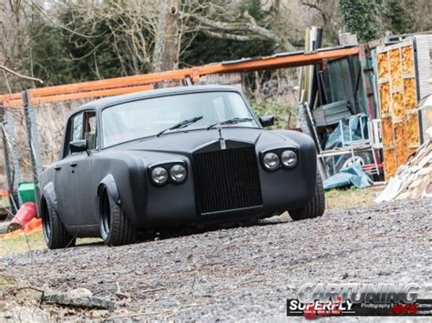 stanced rolls royce stanced rolls royce silver shadow