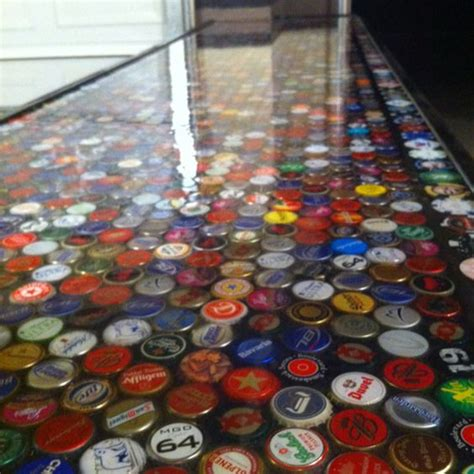 bottle cap bar top pinterest the world s catalog of ideas