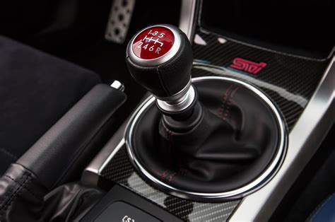 2015 subaru wrx sti launch edition gear shift knob photo 6