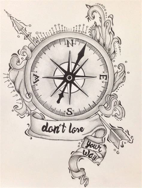compass tattoo prints nautical compass drawing www pixshark com images