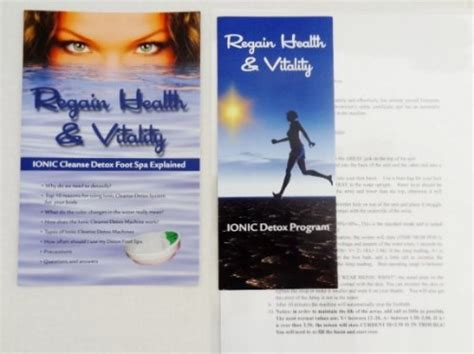 Ion Detox Scam by Ion Detox Ionic Detox Foot Bath Spa Chi Cleanse Unit For