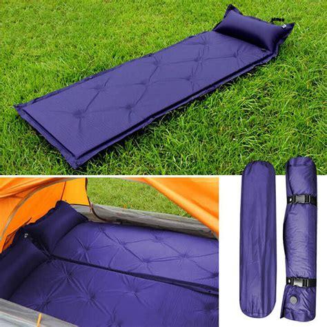 inflatable inflating air mattress sleeping pad
