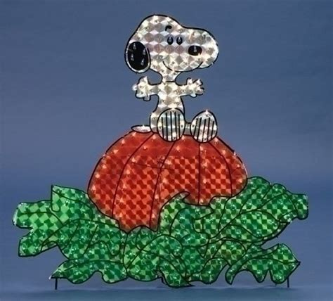 Snoopy Yard Decorations - snoopy lighted yard decor findgift