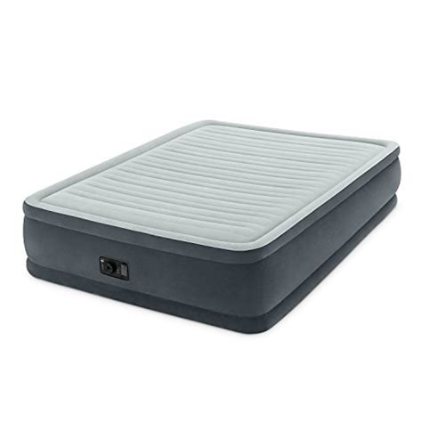 intex comfort plush intex comfort plush elevated dura beam airbed bed height