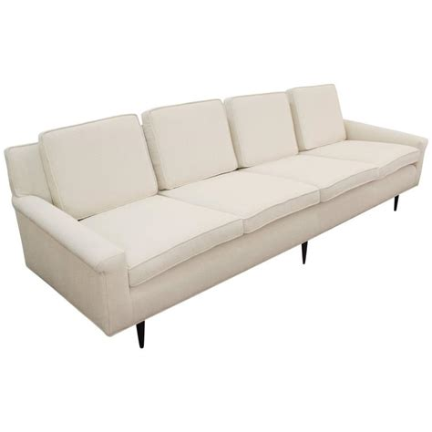 thayer coggin shelter sofa thayer coggin sofa in boucle fabric at 1stdibs