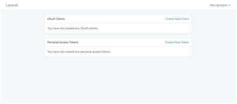 tutorial oauth laravel make an oauth2 server using laravel passport pusher blog